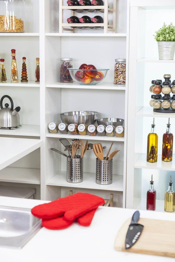 Airy Kitchen Pantry Gallery