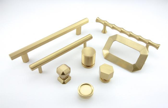 Brass Hardware Design Closet Guys